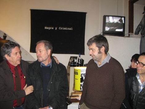 En la presentación, Pepe Gálvez ocupó el puesto del dibujante Étienne Davodeau, y Ramon Parera, el viticultor artesano que ocupó el lugar del viticultor francés,  Richard LeRoy..